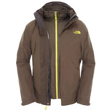 The North Face Mens Primavera Triclimate Jacket in Black Ink Green - Sizes S & M