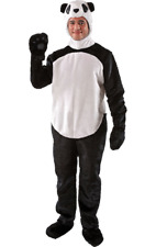 Adult Unisex Ladies Mens Wild Animal Panda Zoo Jungle Fancy Dress Costume