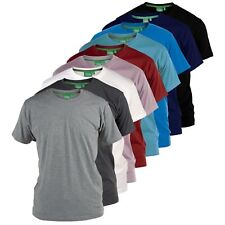 "D555 Mens Premium Weight Combed Cotton ""Crew"" Neck T-Shirts  (FLYERS)"