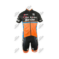 COMPLETO SANTINI TEAM DE ROSA 2016 KIT ESTIVO SUMMER CICLISMO CYCLING BICI BIKE