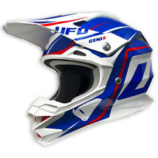 2017 UFO Interceptor 2 Motocross MX Enduro Helmet - Genix - Red White Blue