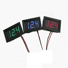 2 Fili DC 4.5-30V Mini LED Display Digitale Voltmetro Volt Tensione Pannello