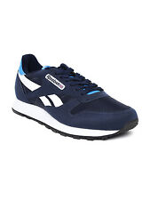 Reebok Mens Original Classic Electro Navy White Casual Sports Shoes