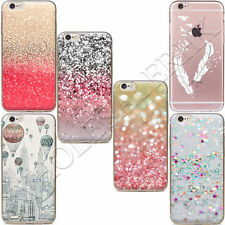 New Pink Sand Funda Carcasa Soft TPU Back Case Cover For iPhone 7 6 Plus 5 5s SE