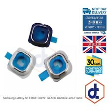 For Samsung Galaxy S6 EDGE G925F GLASS Camera Lens Frame Cover Replacement