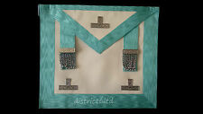masonic regalia-CRAFT WORSHIPFUL MASTER WM/PAST MASTER APRON LAMBSKIN+ GLOVES