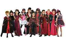 Girls Vampire Halloween Costumes Monster High Draculaura Fancy Dress Outfits