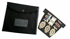 MASONIC REGALIA-HIGH QUALITY MASONIC POCKET JEWEL HOLDER/WALLET/CASE (LARGE)