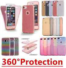 Shockproof 360° Silicone Silicone Protective Case Cover For Apple iPhone Models