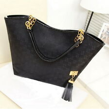 Lady Women Hobo Shoulder Bag Messenger Purse Satchel Tote Tassel Handbag BY