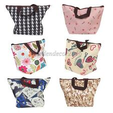 Colorful Insulated Lunchbox Bag School Lunch Tote Cooler Carry Bag Travel Picnic