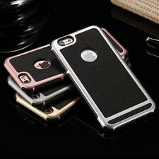 * LUXURY ULTRA SLIM Tough PC+Silicon Back  Cover Case For Apple iPhone 5/5S/SE *