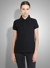 Polo Nation Women's Solid Cotton Polo Tshirt