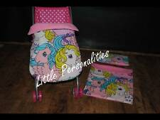 my little pony doll pram cot crib bedding blanket pillow or stayput blanket