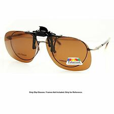 Enem Yellow Night / Day Vision Polarized Clip-on AVIATOR Driving Sunglasses