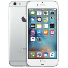 Apple iPhone 6 Silver 5C White 16GB - 64GB Factory Unlocked 4G Smartphone