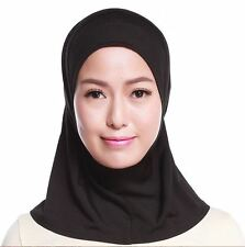 Women's Muslim Fashion Crystal Hemp Mini Hijab Headscarf /Tudung