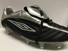 CLEARANCE - Umbro ELITE Senior Real Leather Football Boots Black Were £99