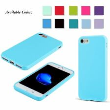 For Apple iPhone 7 New Soft Silm Rubber TPU Skin Bumper Shockproof Case Cov