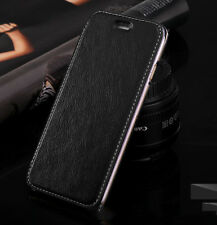 Luxury Shockproof Slim PU Leather+TPU Wallet Flip Case Cover For iPhone 7/7
