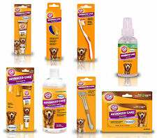 Arm & Hammer Dog Dental Oral Teeth Care Toothbrush, Toothpaste, Mints & Rinse