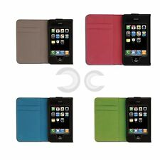 CUSTODIA PER IPOD - IPHONE CON TASCHE INTERNE CHIUSURA MAGNETICA IDEA REGALO NEW