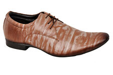 TUSCANY BRAND ORIGINAL LEATHER MENS BEIGE LACE SHOES 25010