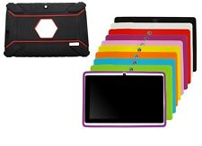 """Gomma Silicone Custodie per 7"""" Quad Core Tablet Android 4.4 KitKat PC"""