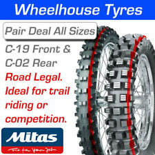 Mitas C-19 Front & C-02 Rear (Ideal for Green Lane & Trail Riding)