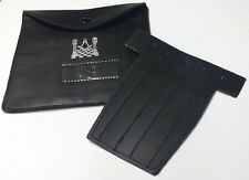 Masonic Regalia Pocket Jewel Holder/Carry Case Wallet for Masonic Jewel