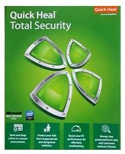 Quick Heal Total Security 1 USER 1 YEAR QuickHeal  Antivirus windows 10 support