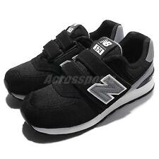 New Balance KV574CUY W Wide BLack Grey Kids Running Shoes Sneakers KV574CUYW