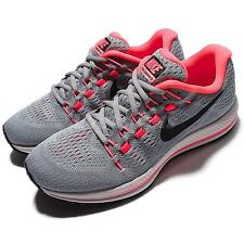 Wmns Nike Air Zoom Vomero 12 Grey Red Women Running Shoes Sneakers 863766-002
