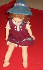 Vintage DOLL Composition/Cloth