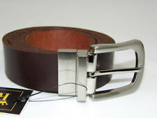 ROMOLEO mens NEW 100% Genuine Buffalo Leather Belt Best Quality Made in UK