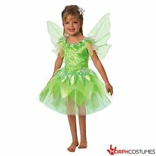 Girls Green Fantasy Fairy Fancy Dress Costume Great for Book Week Halloween