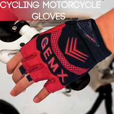 Cycling Gloves Half Finger Gel Palm Silicone Sports Gym Bicycle outdoor Work