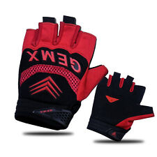 Half finger Gloves Running Jogging Gym Fitness Outdoor BMX MTB Cycling