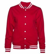Official Women's Red Property Of The Joker Suicide Squad Varsity Jacket