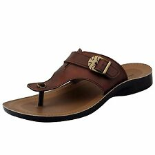 Bata Brand Mens Brown Casual Slipper/Sandal 4491