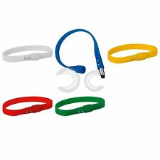 BRACCIALE IN SILICONE CON TOUCH SCREEN BRACCIALETTO 22,8X1 CM GADGET IDEA REGALO