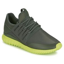 Adidas Originals Tubular Radial Men's Trainers Grey / Green Men's Shoes S75394