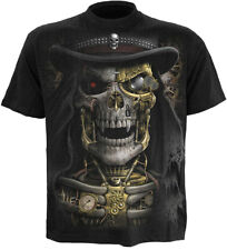 Spiral Steam Punk Reaper, T-Shirt Black|Reaper|SteamPunk