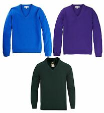 Lyle & Scott Mens Cairnwell Classic Lambswool V-Neck Jumper Golf Sweater RRP£80