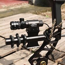 Pro Tactical Outside Adjusted Hunting Rifle Green / Red Laser Sight Dot Scope