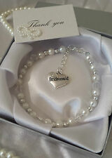 Perfecto Regalo De Agradecimiento Pulsera de charms BODA Mother of the bride