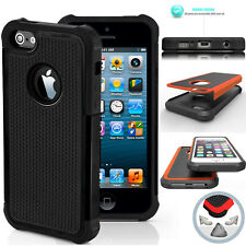 ARMATURA anti-urto CUSTODIA COVER IN SILICONE ibrida resistente per iphone apple