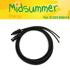 4mm Solar PV DC Paired Cable 3m 5m 7m with crimped MC4 connectors - Male/Female