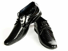 Vedano Formal Black Genuine Patent Leather shoes_FORM006