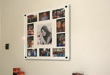 """CHESHIRE ACRYLIC 24X24"""" X 10MM WALL PICTURE FRAME  FOR  10x8"""" & 6x4"""" photo"""